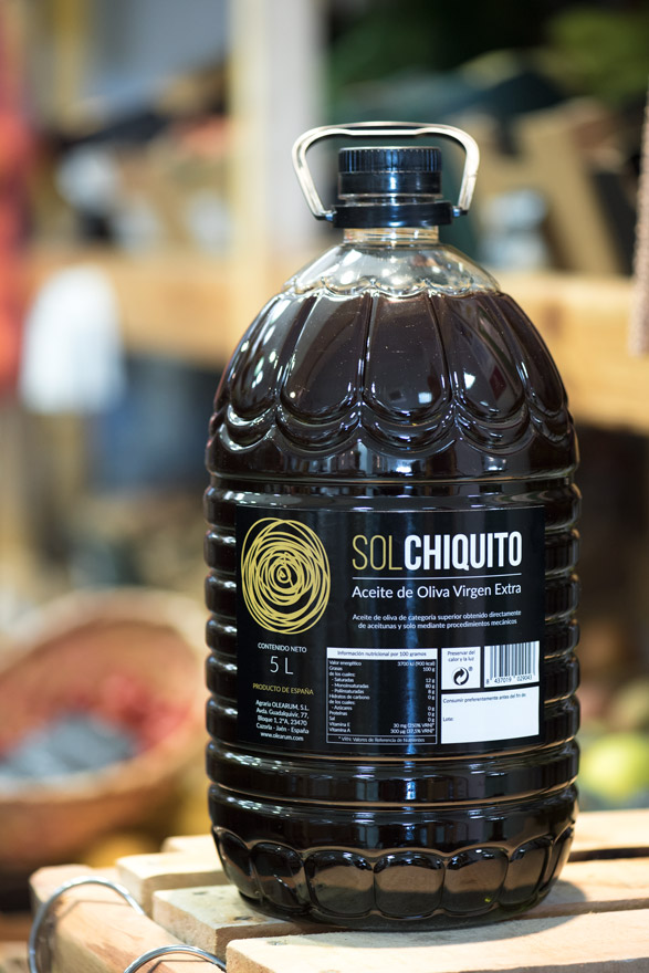 Extra virgin olive oil Sol Chiquito 5 litres bottle