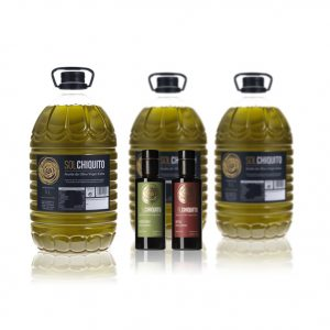 Oferta de garrafa de aceite de oliva virgen extra