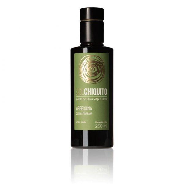 Aceite de oliva virgen extra Sol Chiquito arbequina de cosecha temprana 250 ml