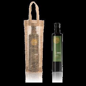 AOVE Sol Chiquito arbequina de cosecha temprana y bolsa de yute de regalo