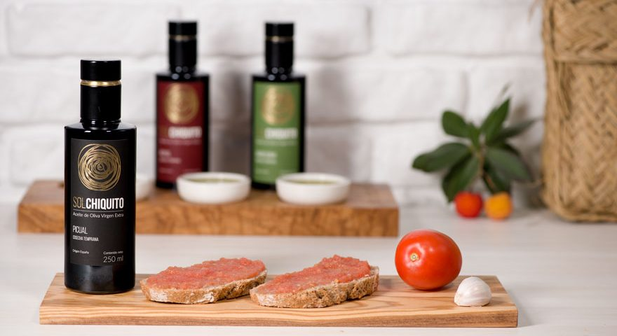 A healthy toast with EVOO Sol Chiquito