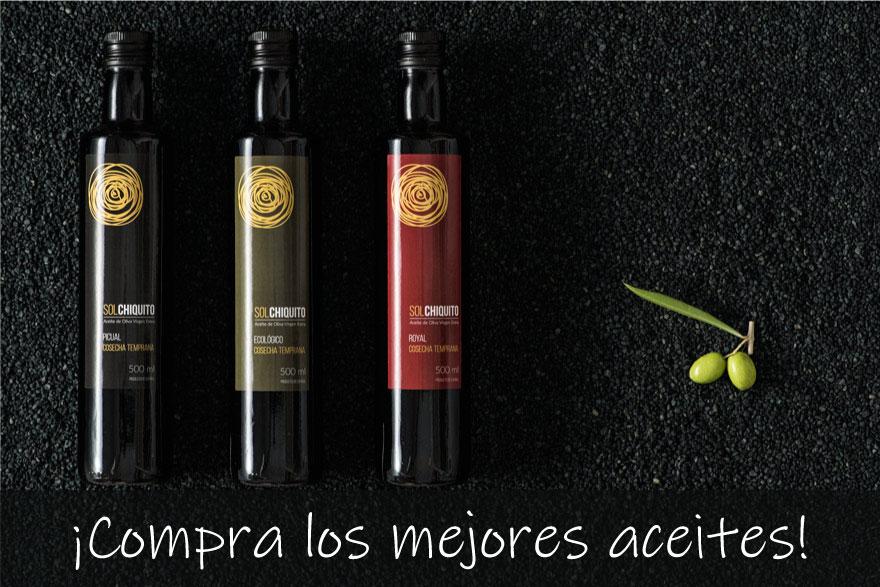 Tienda on line de aceite de oliva virgen extra Sol Chiquito