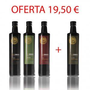 Oferta de aceites verdes