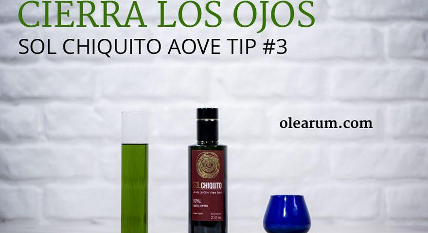 El color del aceite de oliva virgen extra Sol Chiquito