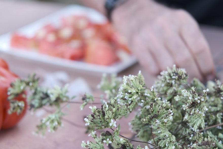La mejor manera de preparar un tomate
